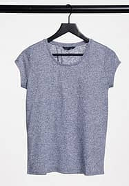 French Connection Hetty tshirt in grey