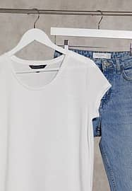 French Connection Hetty tshirt in white