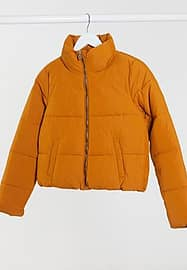Only padded jacket in rust-Orange