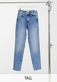 Only Tall Veneda mom Jean in blue