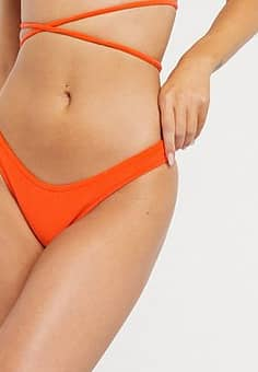 sunset bikini bottom-Orange