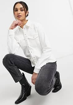 Gestuz Astrid shirt in bright white