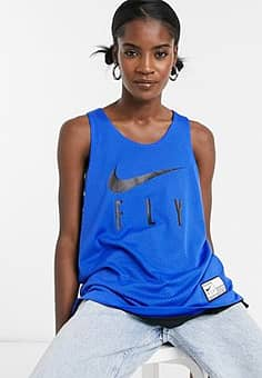 fly reversible jersey in blue