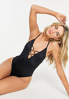 Dorina Ampara swimsuit in black