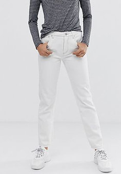 Finery Aiko straight cut jeans-White