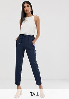 Y.A.S relaxed trousers-Navy