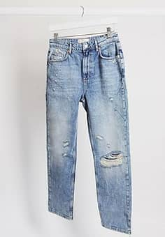 Free People Dakota Straight Leg Jean in indigo Blue-Navy