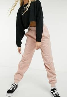 Urban Bliss jogger bottom in dusky pink