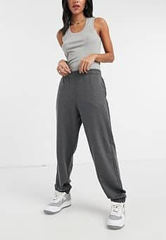 Urban Bliss slouchy cuffed jogger in grey