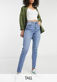 Vero Moda mom jeans in light blue