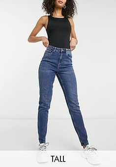 Vero Moda mom jeans in medium blue