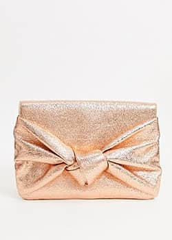 ASOS clutch bag with over