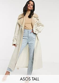 ASOS ASOS DESIGN Tall double layer over