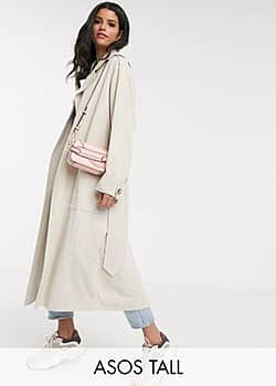 ASOS ASOS DESIGN Tall luxe over