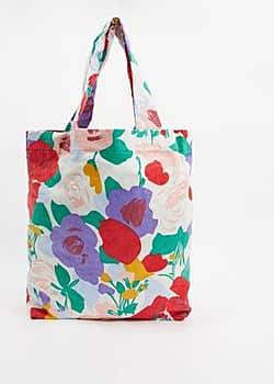 Faithfull the Brand Faithfull floral corduroy travel tote bag in floral print-Multi