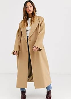 Gestuz Lea tailored double breasted coat-Brown