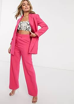 Ivyrevel tailored trouser coord in hot pink