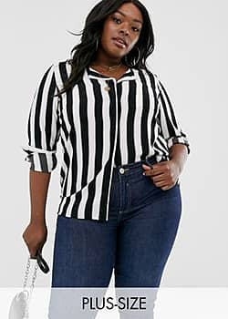 Junarose stripe blouse-Multi