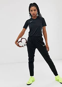 Nike dry academy pants in black