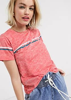Pepe Lola 70's t-shirt in red