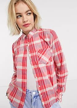 Pepe Missy shirt in check-Multi