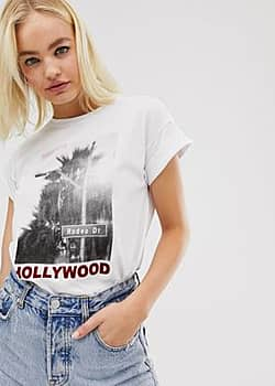 Soaked in Luxury hollywood t-shirt-White