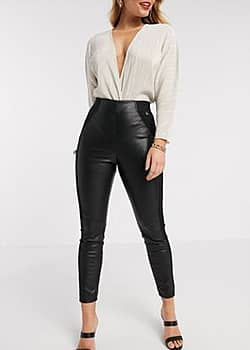 Ted Baker Kloriis faux leather legging in black