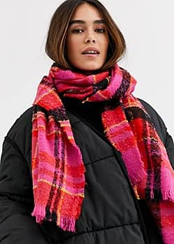 Vila check scarf-Multi