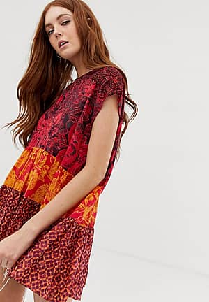 Gotta Have You mixed floral tunic top