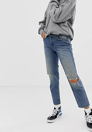 revive 90s crop jean with recycled & organic cotton