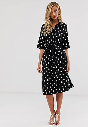 shirt dress in over