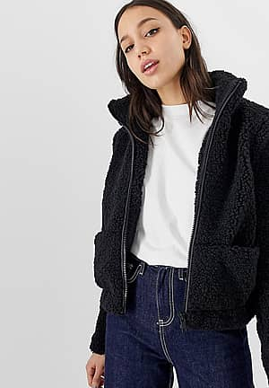 zip through teddy bomber