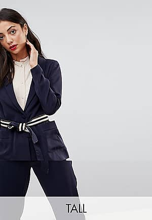 Belt Detail Blazer