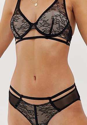 luisa brief in lace