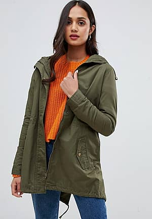 meredith parka with back detail