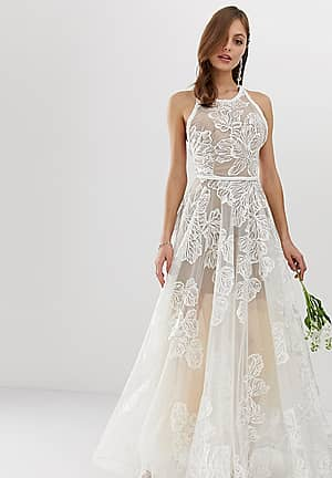 Bronx & Banco exclusive Fiora embellished bridal gown