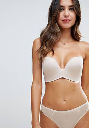 new ultimate strapless bra a - g cup