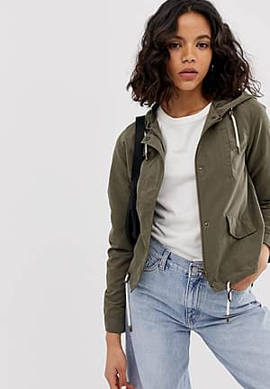 lightweight parka jacket