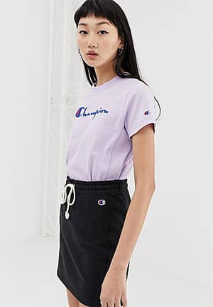 relaxed t-shirt with front logo