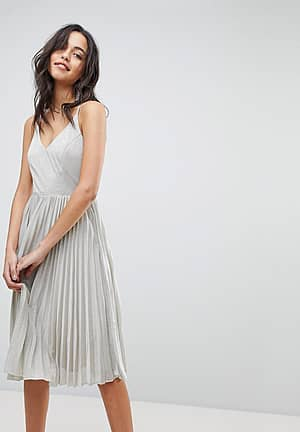 Jolene Pleated Dress